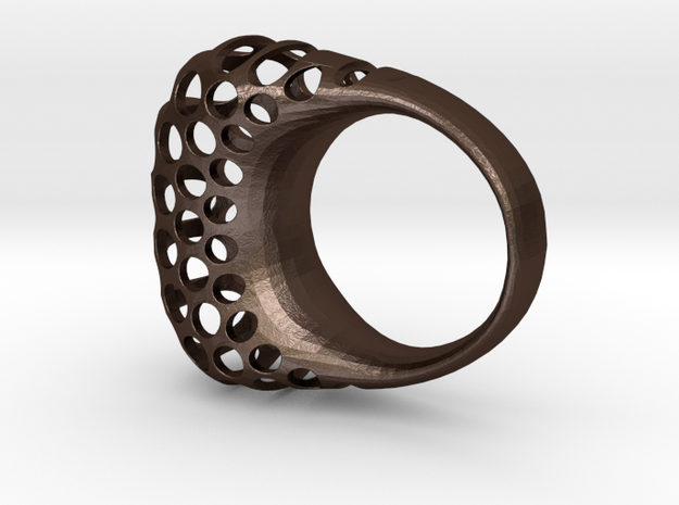 Polyoptic ring 4.2 3d printed