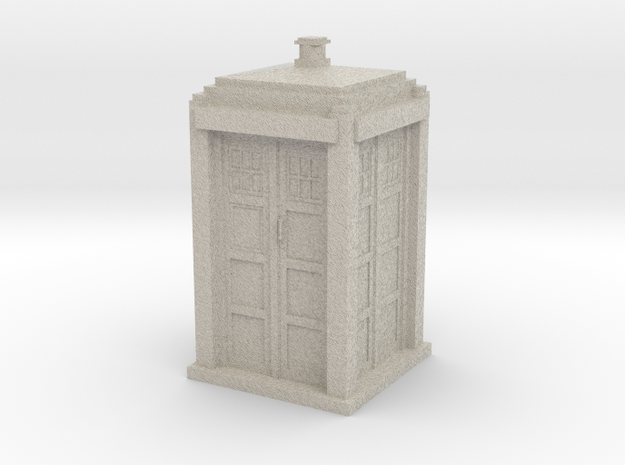 Tardis mini 3d printed