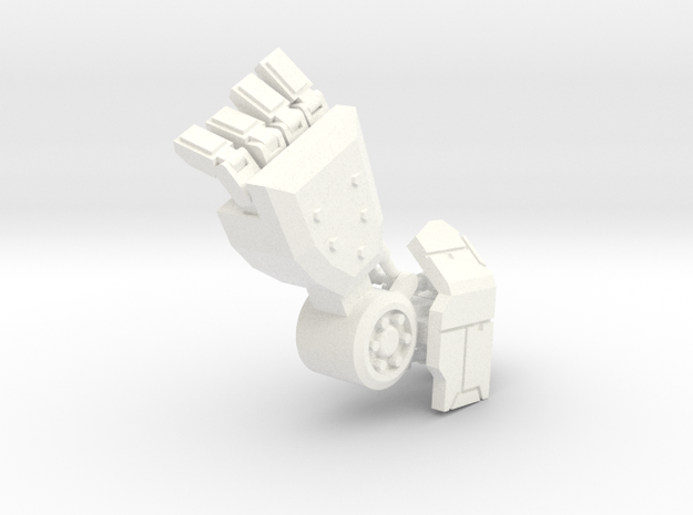 Robot arm 80% 3d printed