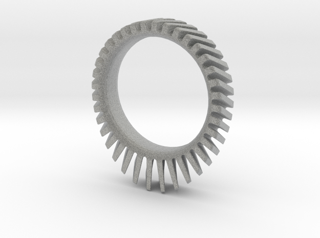 Helical Sun Sprocket 3d printed