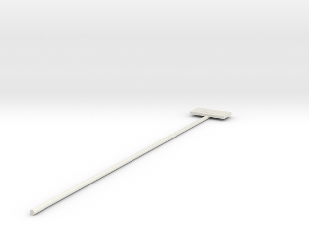 Canadian Flag swizzle stick 3d printed