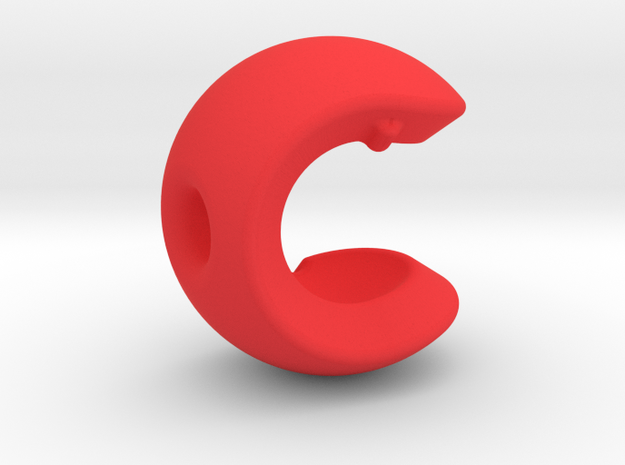 C sphere / like half a tennis ball 3d printed