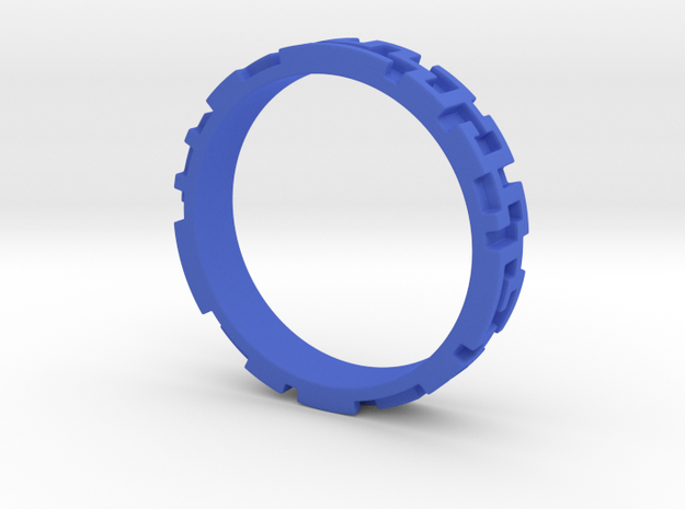 A maze ring 3d printed