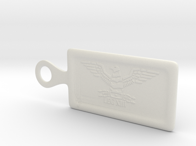 Legion 13 key chain_med 3d printed