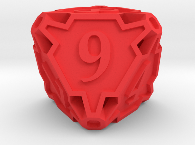 Large Die8 3d printed