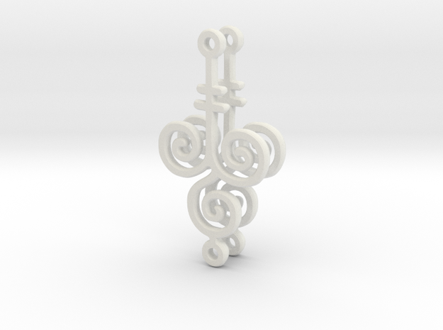 Draw your own earrings 3d printed