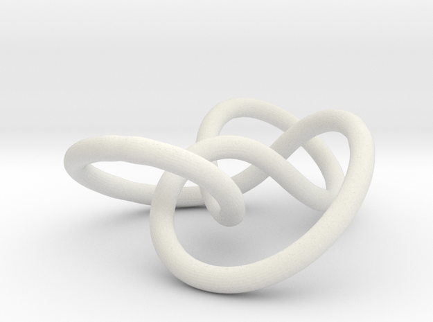Prime Knot 4.1 3d printed