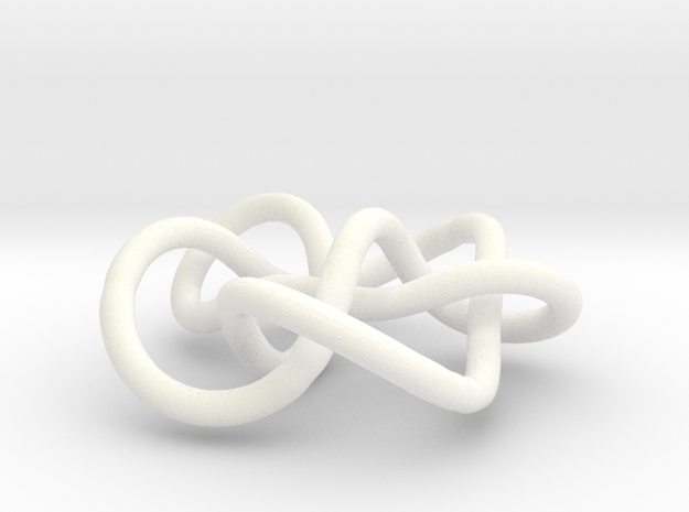 Prime Knot 7.7 3d printed
