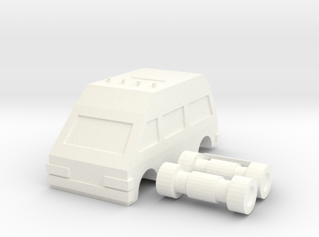 Ratchide vehicle mode 3d printed