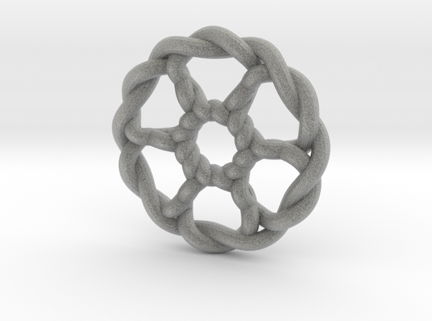 Celtic Knots 07 (small) 3d printed