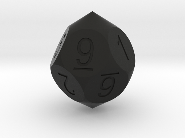 D10 5-fold Pointed Dice 3d printed