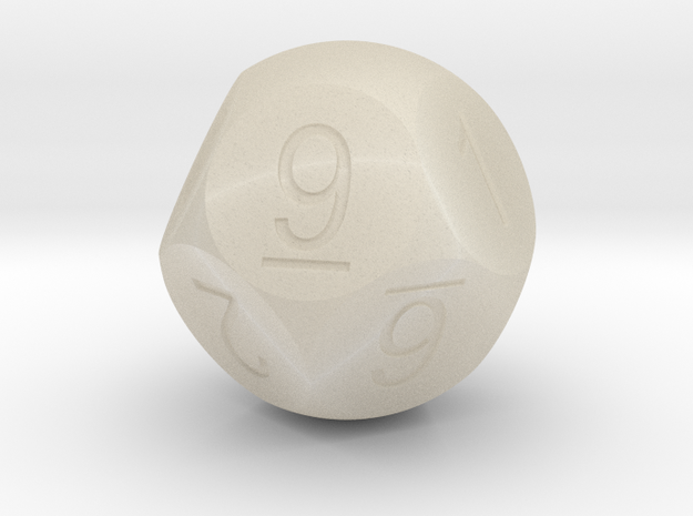 D10 5-fold Sphere Dice 3d printed