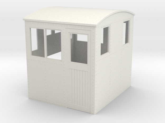 On30 conversion cab side entry for endcab loco 3d printed