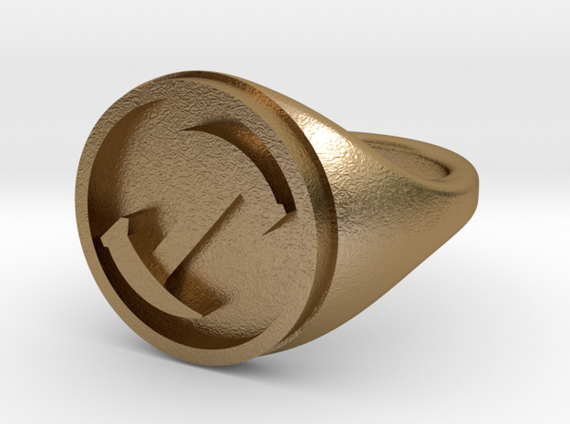 Simpsons Stonecutters ring size 12 3d printed