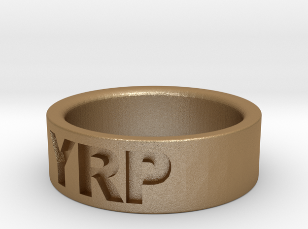 Custom Ring Engraved 3d printed
