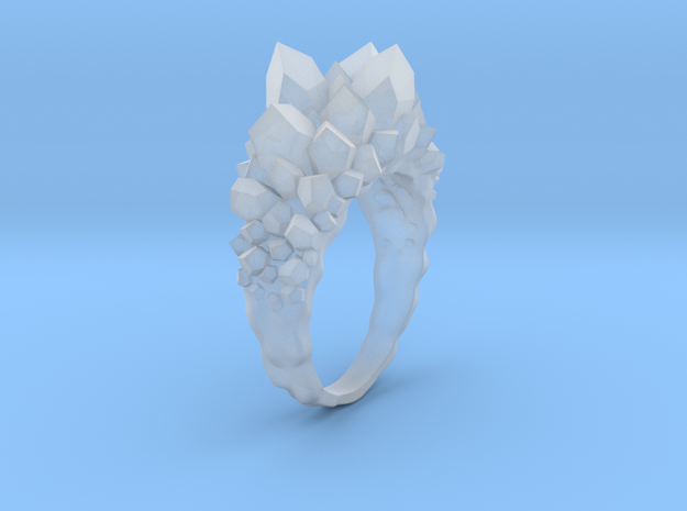 Crystal Ring size 12 3d printed Photo 1