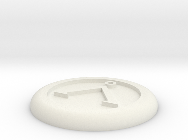 Generic base Ø30mm - Å symbol 3d printed