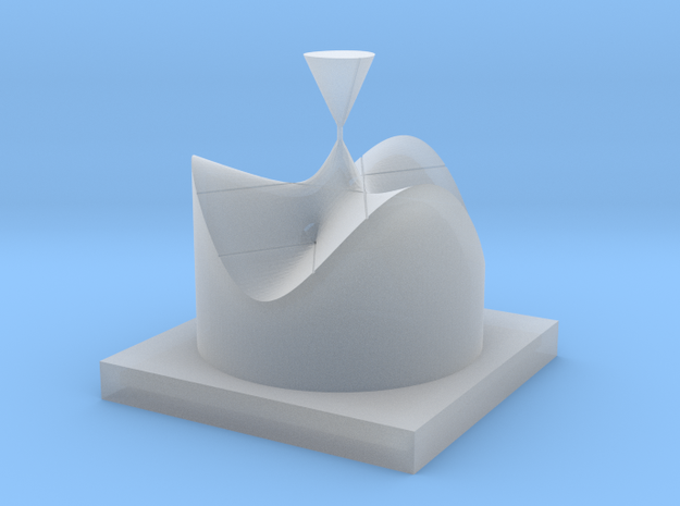 [16] Affine Form of 4 - A1 Type Singularities 3d printed