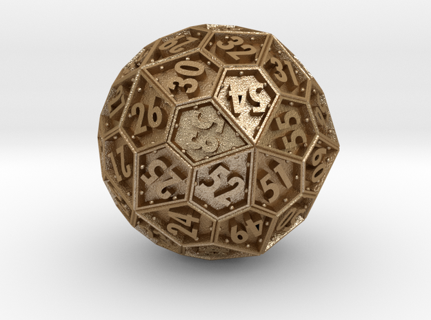 The Rosetta Dice #1 (60) 3d printed