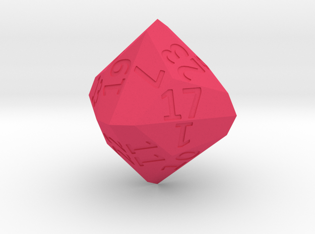 Dyakis Dodecahedron (d24) 3d printed