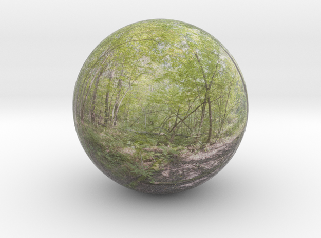 sphere panorama 4 3d printed