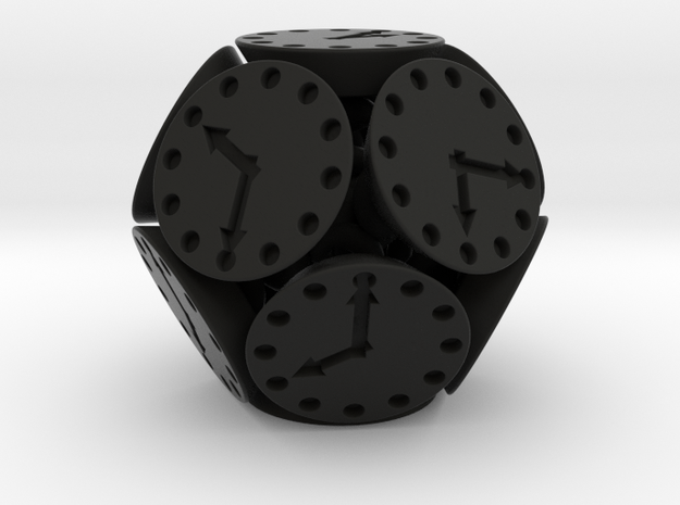 New Class of Dice - Spring-Loaded Dodedie 3d printed