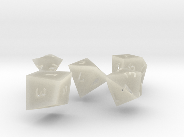 Isodice bundle 1 3d printed