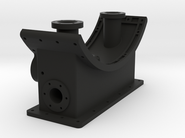 Smoke Box Saddle 1-16 3d printed