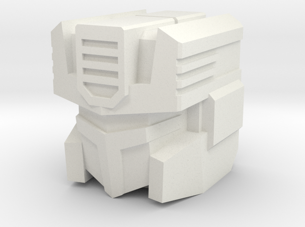 Whiteburn head 3d printed