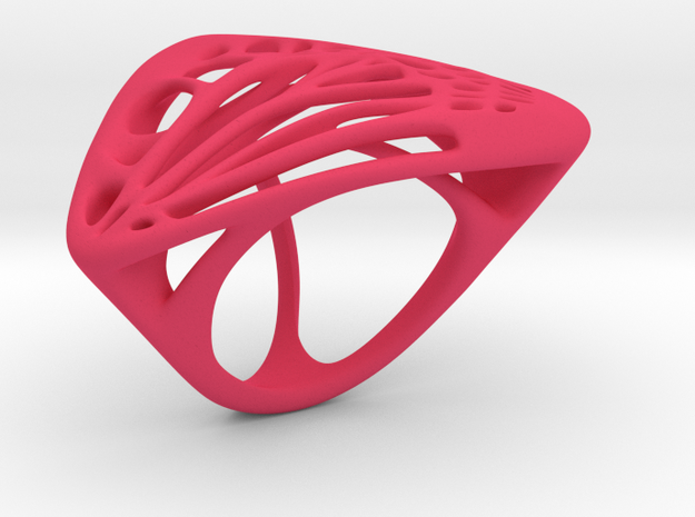 Butterfly Ring [ Size 8 ] 3d printed