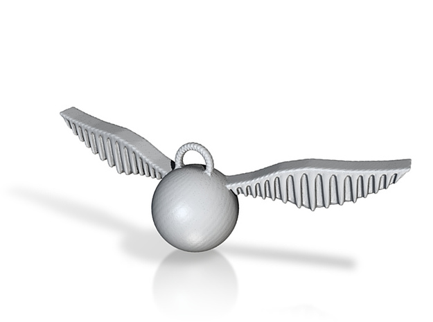 Snitch Pendant (Small) 3d printed