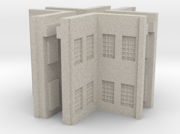 Factory Inside Corner - Z scale 3d printed