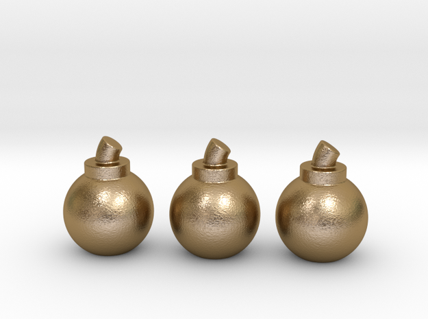 Bombs (3 Pack) 3d printed