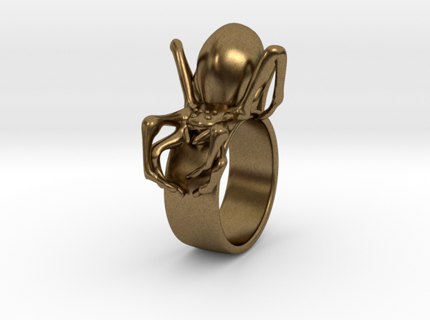Black Widow Ring - 18 mm 3d printed