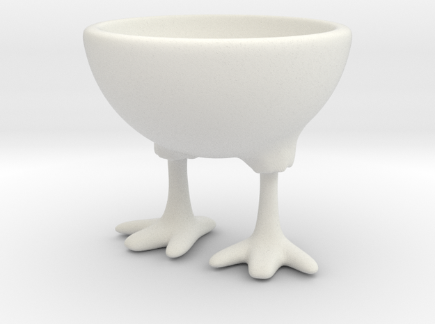 Feet Egg Cup 3d printed