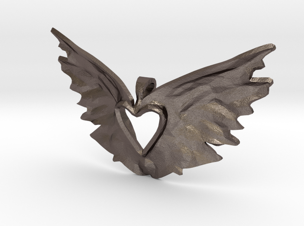 variation on the heart takes flight 3d printed