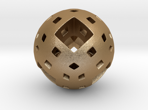 Menger Marble 3d printed