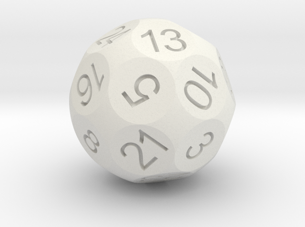 D24 Sphere Dice 3d printed