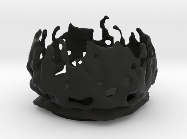 organic tea candle holder 3d printed