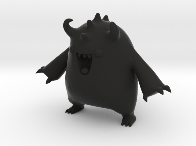 Barry the Thinker Thing test monster 3d printed