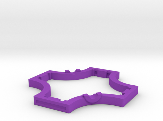 Geared Widget #1 of 5 3d printed