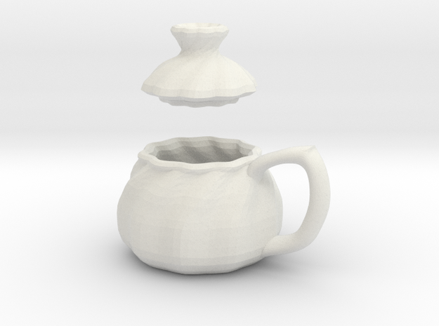 Dollhouse Soup Filed Dumpling Mug 3d printed