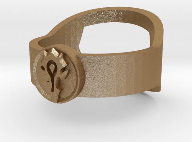 WoW Horde Insignia Ring - Bottle Opener 3d printed