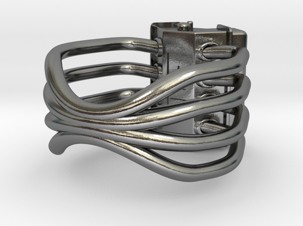 V8 ENGINE RING 3d printed