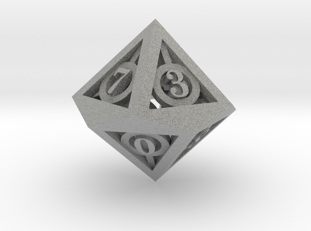 Deathly Hallows d10 3d printed