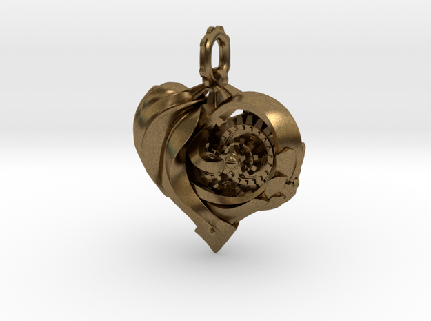 Inner workings Mech-Organic Heart 3d printed
