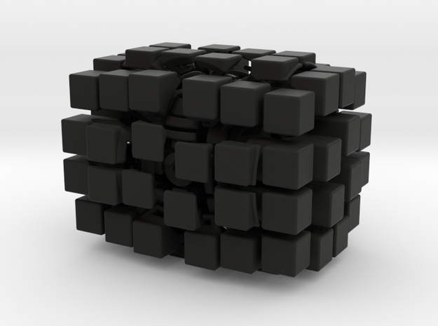 4x4x6 Cuboid - Open Source 3d printed