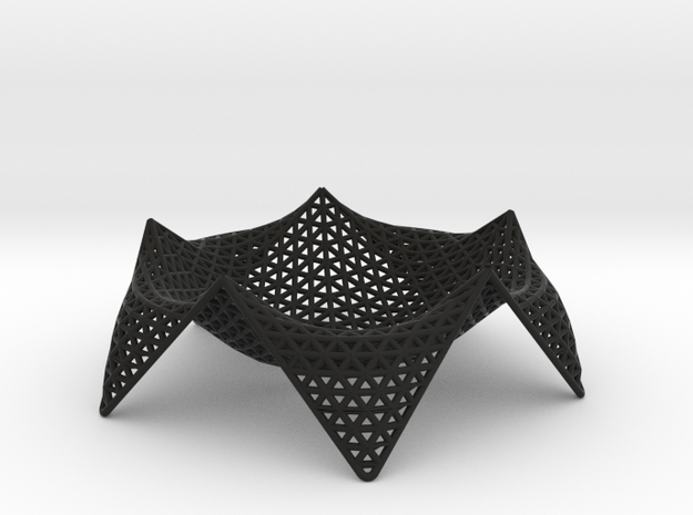 starfish fruit bowl - 12 3d printed