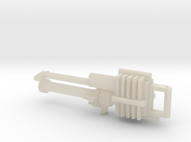 Necron Flayer Rifle 3d printed