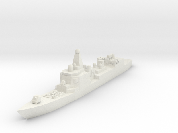 052 PLAN Destroyer 1:2400 x1 3d printed